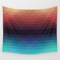 Geometric 08 Wall Tapestry by VanessaGF