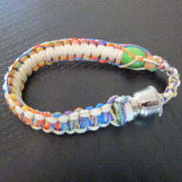 Colorful Bracelet smoking pipe hippie style with free gift