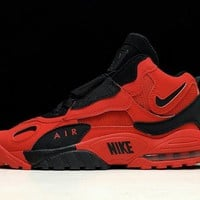 Nike AIR MAX SPEED TURF Retro Men Shoes Sneakers Sport Basketball Red Black Size 40-45