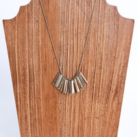 Spiked Bar Necklace