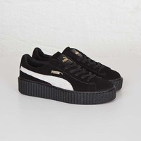 PUMA Fenty Rihanna Suede Creepers 361005-01 Black size US 9 NEW 100% Authentic