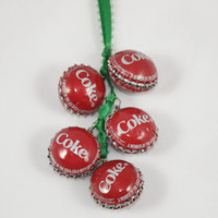 Coke Jingle Bells from Recycled Coke Bottle Caps, Christmas Decoration, Christmas Jinlge Bells, Door Decoration