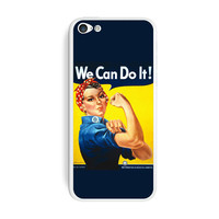 Rosie The Riveter - War Poster iPhone 5C Skin