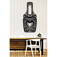 Vinyl Decal Wall Sticker Bottles Ornate Nail Polish with Ornament (n865)