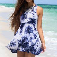 Serendipity Tie Dye Swing Dress