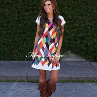 Smile Like You Mean It Bright Dress