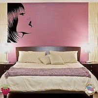 Wall Stickers Vinyl  Fashion Model Hot Sexy Girl Woman Female  Unique Gift z1539