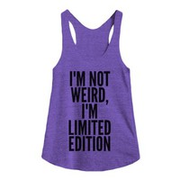 Limited Edition-Unisex Tri Orchid Tank