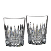 """Two """"Lismore Diamond"""" Tumblers - Waterford Crystal"""