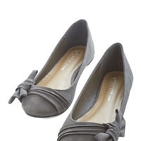 ModCloth Darling Anywhere You Bow Flat