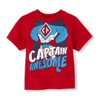 I am captain awesome graphic tee | US Store