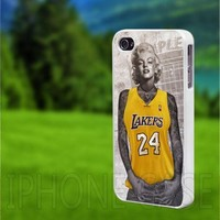 CDP 0961 Marlin Monroe Edition Staples Center Lakers - iPhone 4/4s