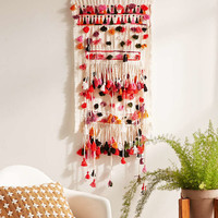 Pom-Pom Wall Hanging - Urban Outfitters