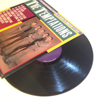 Album Record The Temptations Great Songs And Performances That Inspired the Motown 25th Anniversary Television Special LP Vinyl