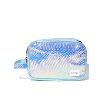 Holographic Portland Cosmetic Bag
