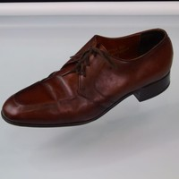 Brown Office Dress Oxford Shoes Mens Size 10 D