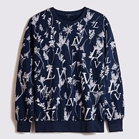 Louis Vuitton LV new round neck letter printed sweater