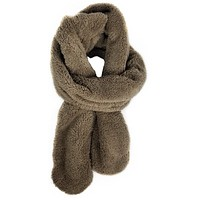 Teddy Scarf - Taupe