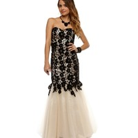 Pre-order- Tess- Black Prom Dress