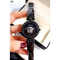 Versace tide brand women's simple and versatile fashion quartz watch #1