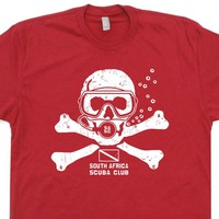 Scuba Diving T Shirt South Africa Scuba Diving Tee Shirt Vintage Scuba Shirt