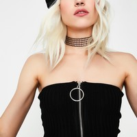 Dark Love Tube Top
