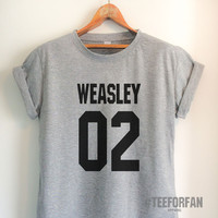 Harry Potter Shirts Harry Potter Merchandise Ron Weasley Shirts t shirts Clothes Quidditch Jersey Top Tee for Women Girls Men