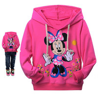 2016 new autumn Hello Kitty girls clothes long sleeve children hoodies kids clothing sweatshirts