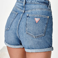 Guess x PacSun Denim Mom Shorts at PacSun.com