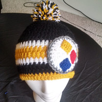 Adult Steelers Beanie! For all those fans out there!