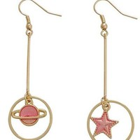 Pretty Pretty Space Babe Earrings