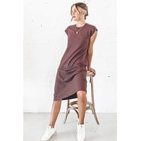 RICHER POORER Women's Easy Dress In Java Loungewear