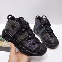 """Nike Air More Uptempo """"Black"""" Toddler Kid Shoes Child Sneakers - Best Deal Online"""