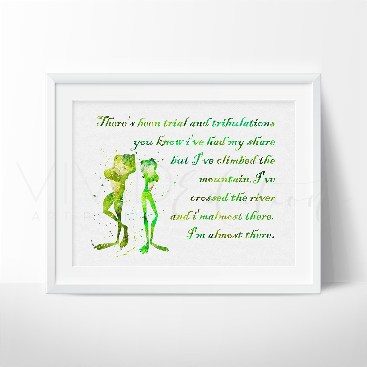 Image of Princess and the Frog Quote