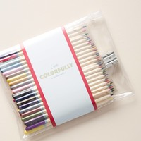 Maude Colored Pencils + Pouch Set