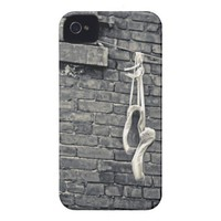 Ballet Pointe Shoe Photography iPhone Case Case-mate Iphone 4 Case from Zazzle.com
