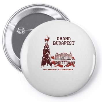 grand budapest hotel Pin-back button