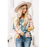 Totally Tubular Oversized Tie Dye Top