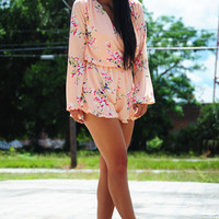 Out Of My Hands Romper: Multi