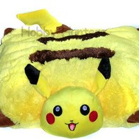 "Pillow (Cushion) - Pokemon - 17"" Pikachu Plush Doll"