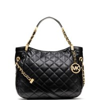 Susannah Quilted Leather Medium Tote