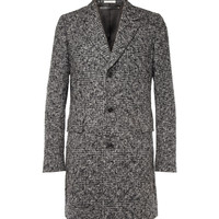 Paul Smith - Check Alpaca and Wool-Blend Overcoat   MR PORTER