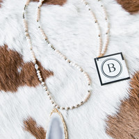 The Emily Necklace, Champagne | BPD