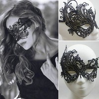Mask Sexy Lace Venetian Masquerade Ball Halloween Party Fancy Dress Costume