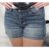 Judy Blue Izzy Non Distressed Jean Shorts