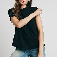 We The Free Womens Wrap Front Tee