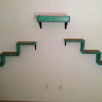 Set of Three   Two Cat Stairs   One Cat Bed   Cat Wall Shelves   Cat Walkways   Cat Perch