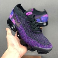 Nike Air VaporMax Flyknit 2.0 ¡°Night Purple¡± Men Running Shoes