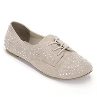 Candie's® Embellished Oxford Shoes - Women