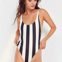 Billabong X Warhol Surf Stripe One-Piece Swimsuit | Urban Outfitters